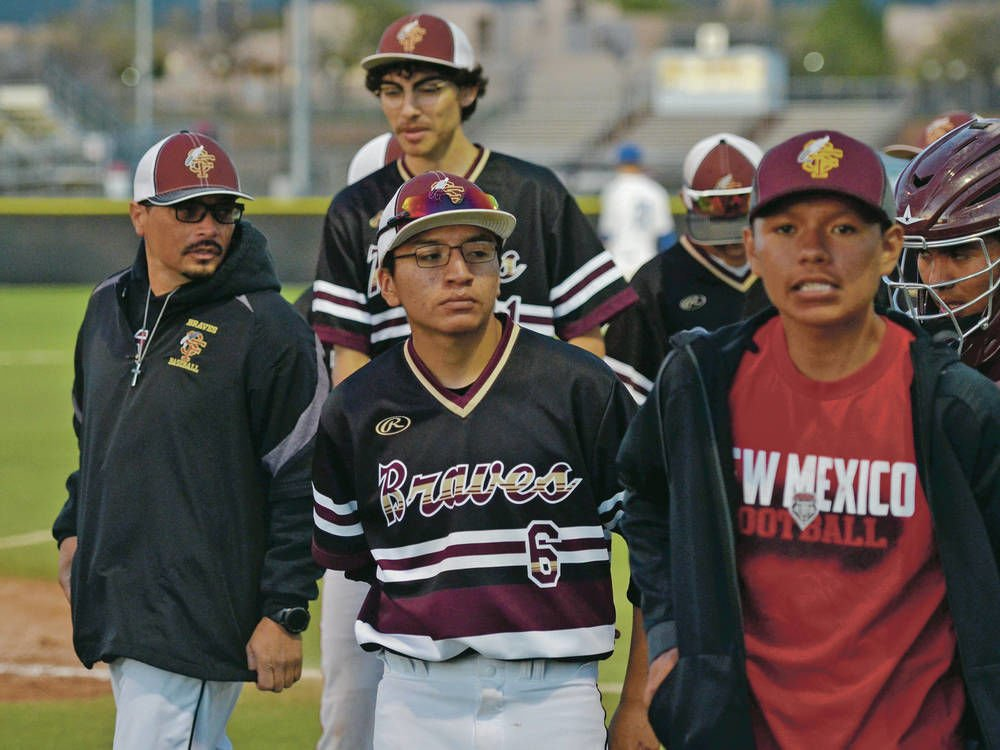 Coaching brothers pitching success for Santa Fe Indian School baseball, softball teams