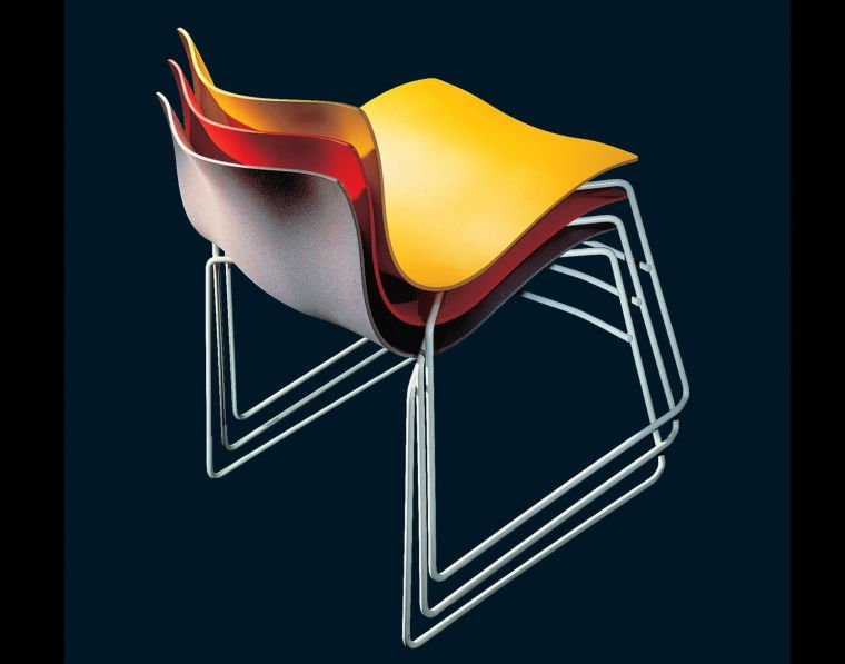 The Knoll Handkerchief Chair