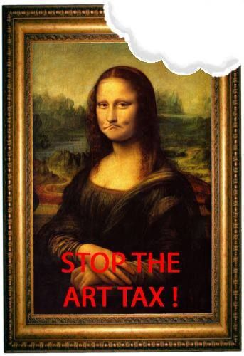 'Message bill' on art sales taxes riles gallery owners