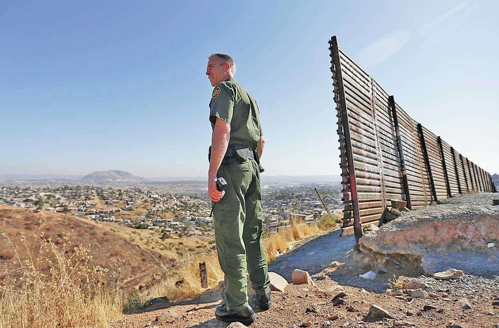 a discussion on the effectiveness of the us border patrol As washington works on immigration reform, a number of republican leaders argue that no plan can proceed without more security at the us-mexico border as the world's jason margolis found out in texas, many feel there's too much security already.