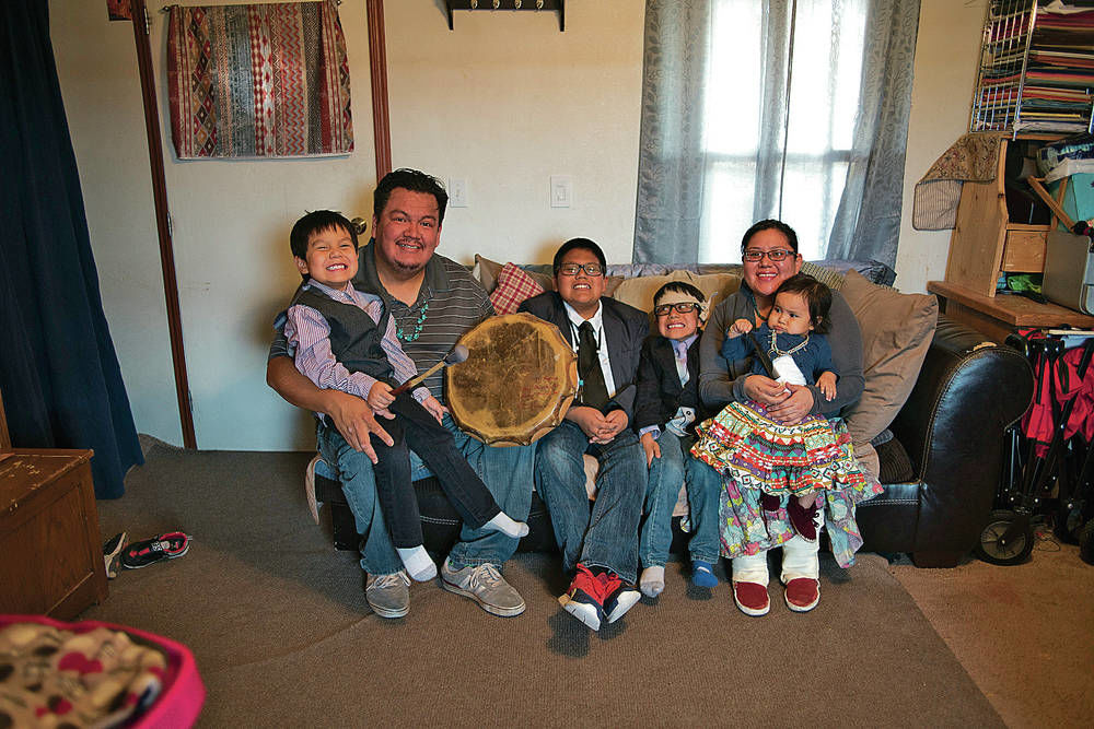 Family does its part to keep Navajo language alive
