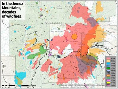 Jemez map