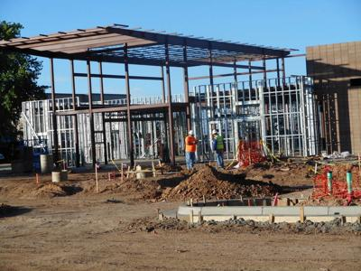 Work underway in Santa Fe on new building for state records bureau
