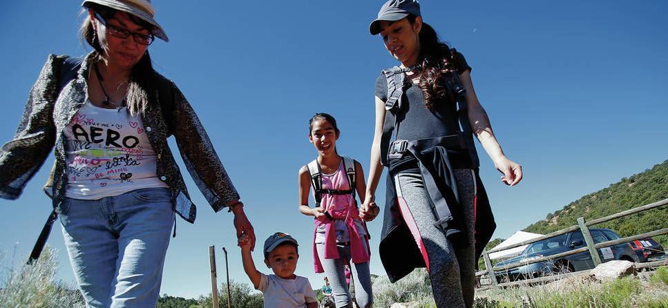 Breezes, birds and Bigfoot: Kids explore Santa Fe's trails