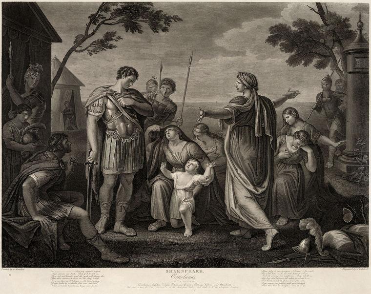 Coriolanus painting
