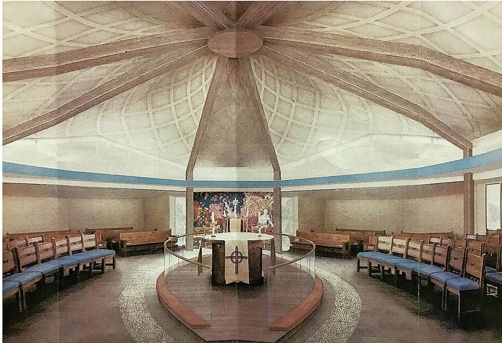 St. Bede's renewal underway in Santa Fe