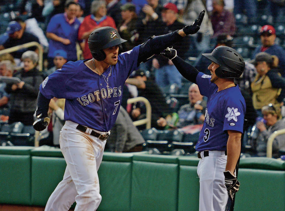 Just over 6,100 flock to Isotopes Park for home opener