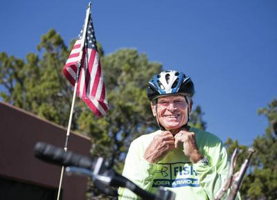 Cycling Santa Fe minister racks up miles for a cause