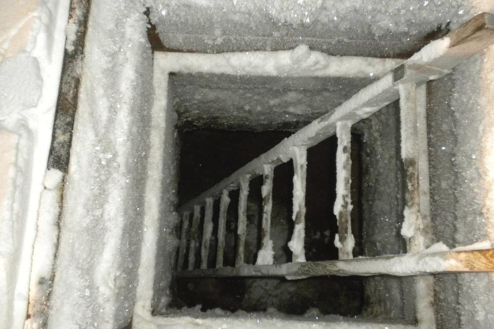 Failing ice cellars signal climate change in Alaska