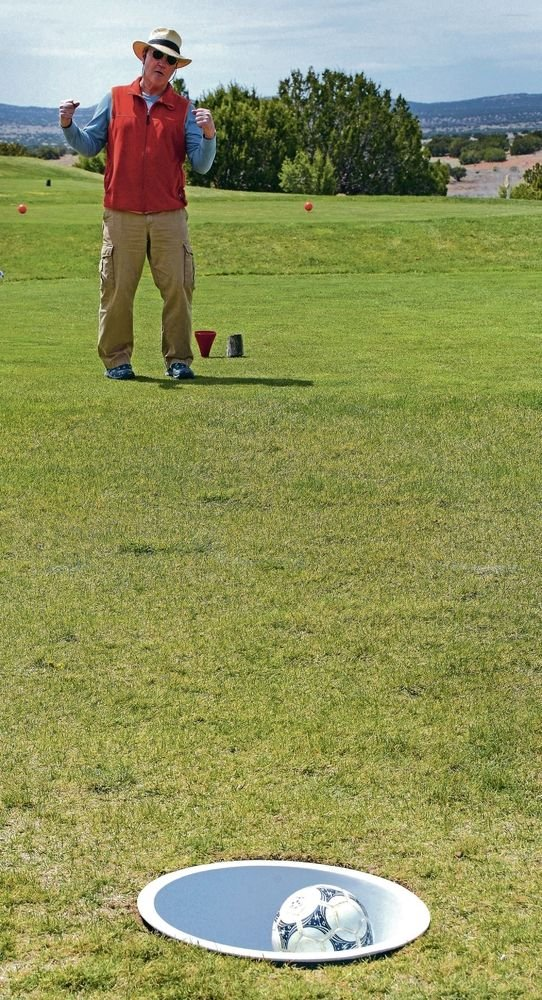 Footgolf draws in the curious at Marty Sanchez