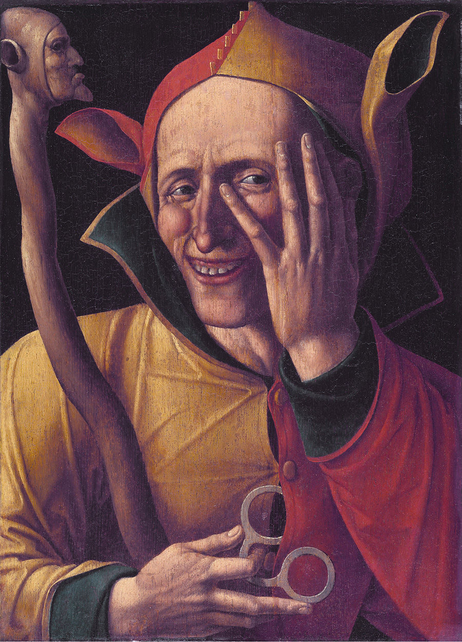 Laughing jester