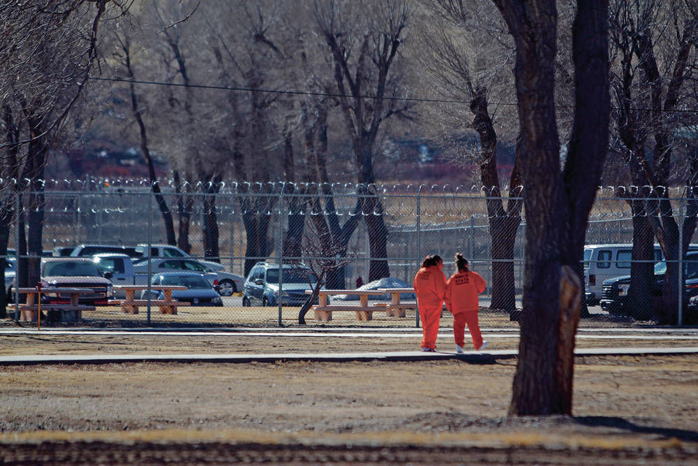 N M  prison population rises while other states see decline