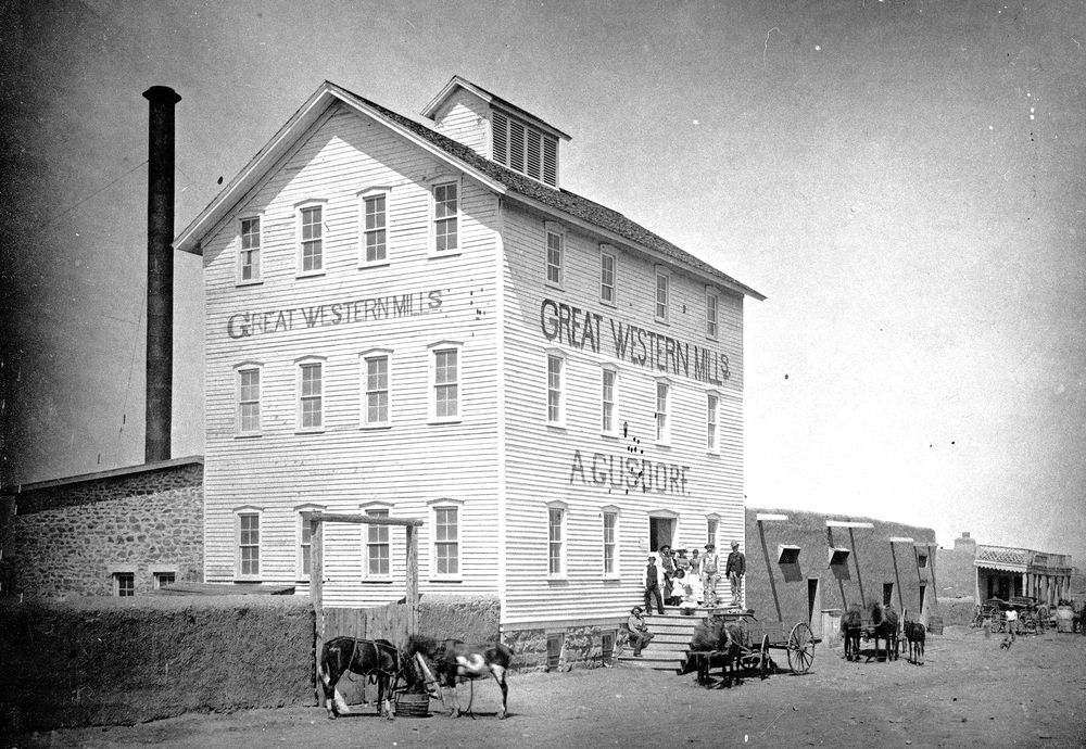 Trail Dust: Early New Mexico had hundreds of mills