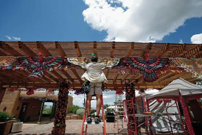 Getting the Folk Art Market ready to soar