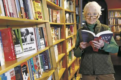 Taking a bow: Independent bookseller Dorothy Massey