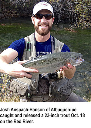 New Mexico fishing report