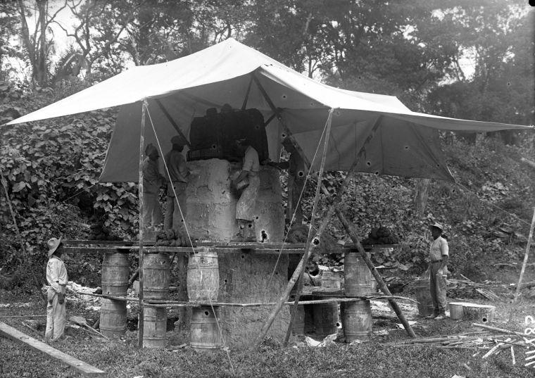 Casting of Quiriguá Stela K
