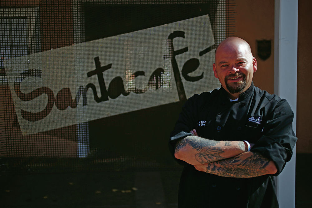 Once dealing drugs and guns, Santacafé chef is now slicing and sautéeing on national TV