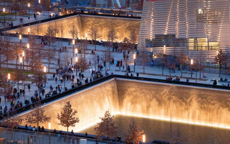 Architectural rendering of National September 11 Memorial & Museum