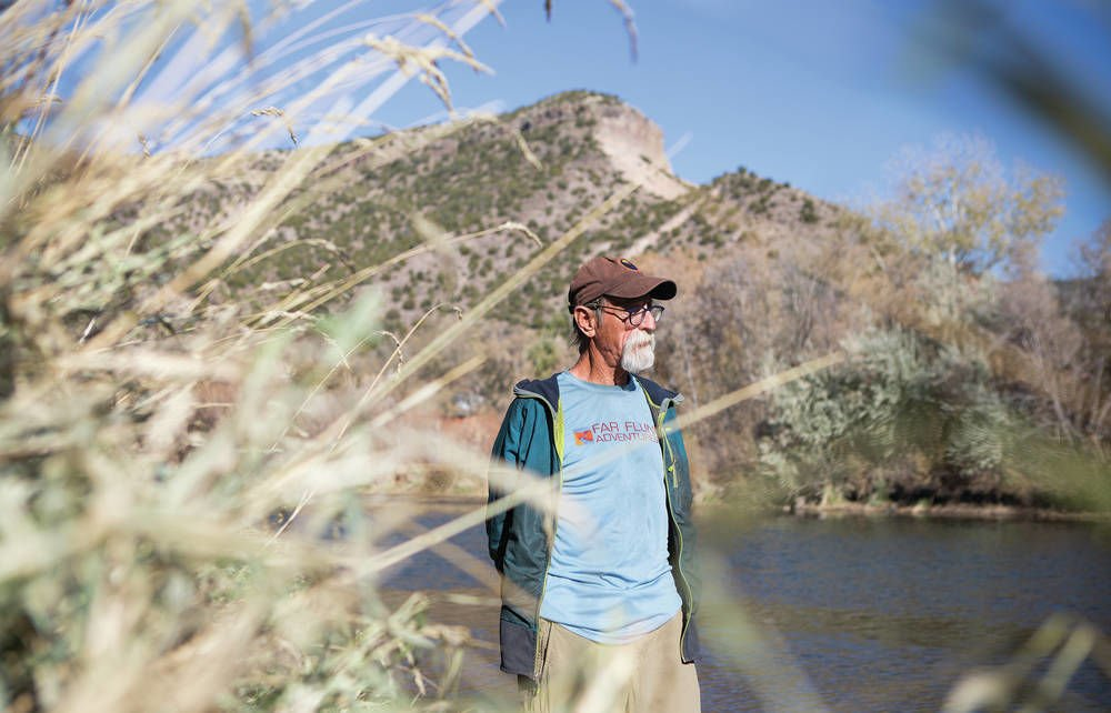 Protecting Rio Grande personal for 'River Daddy'