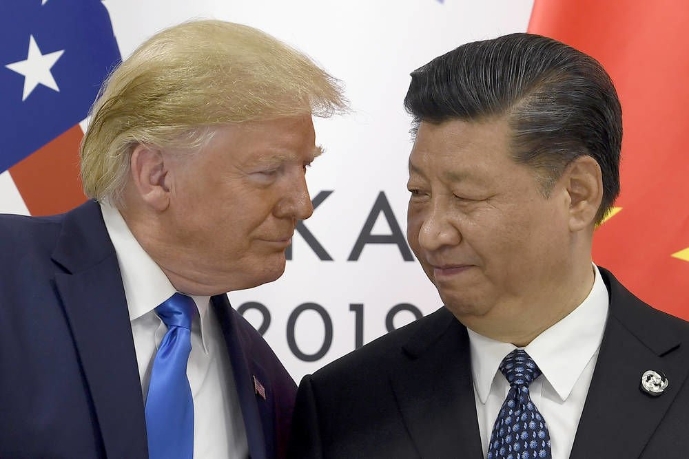 Markets tumble on growing tariffs rift between U.S., China