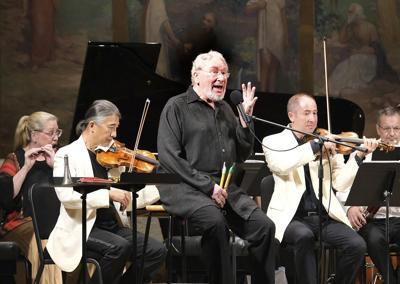 A big dose of schmäh, plus Britten and Brahms