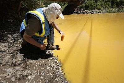 EPA: Fish damage from Gold King Mine spill wasn't severe, long-lasting
