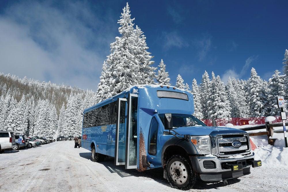 Mountain Trail bus bursting at seams