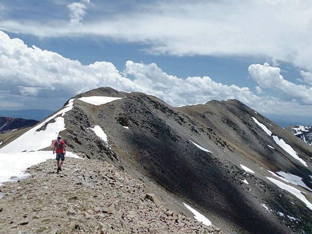 Elevation Gain Stone Mountain Hike : Outdoors hiking new mexico s highest peak wheeler