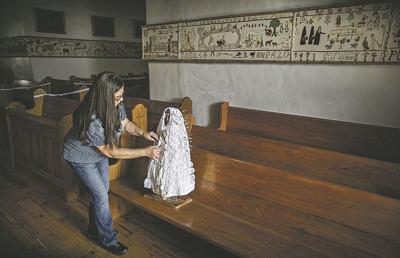 Stitching time: The Villanueva Tapestry