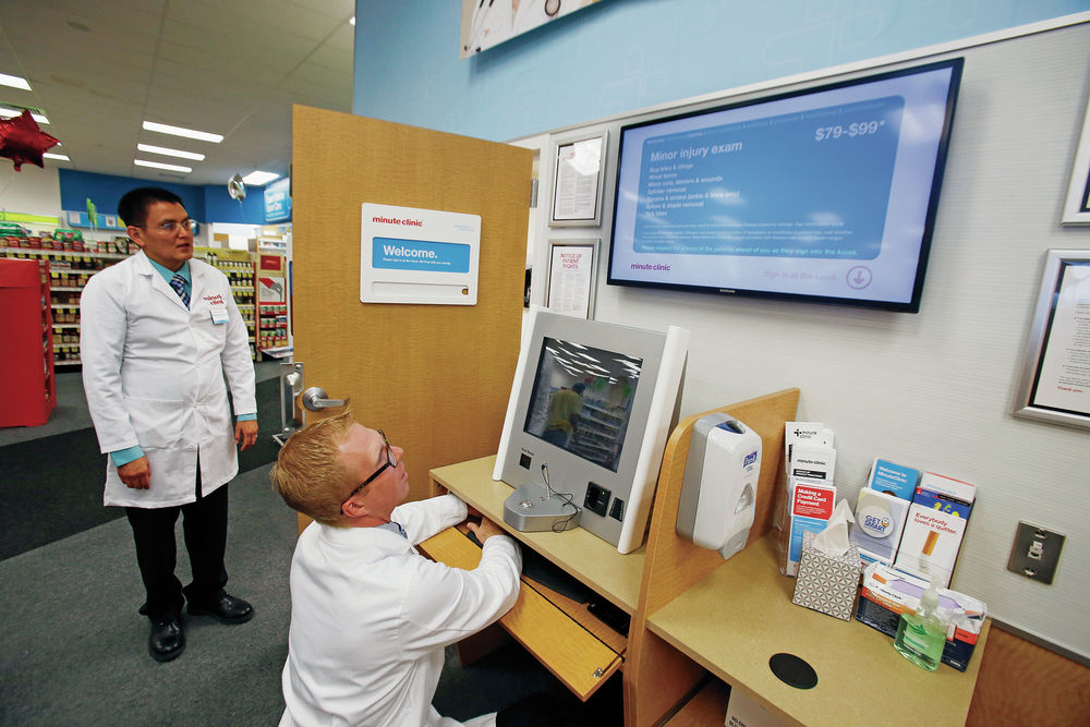 cvs opens minuteclinic at cerrillos road store health and science