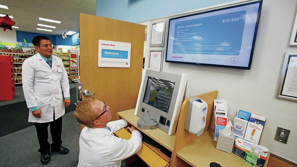 Cvs Opens Minuteclinic At Cerrillos Road Store Health And