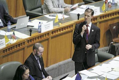 House passes budget bills, calls recess