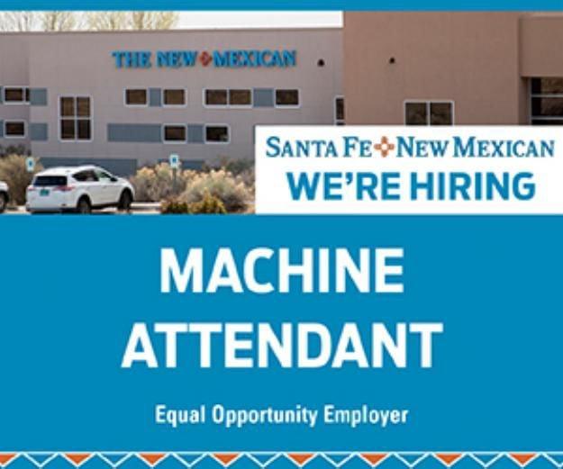Machine Attendant - Full Time