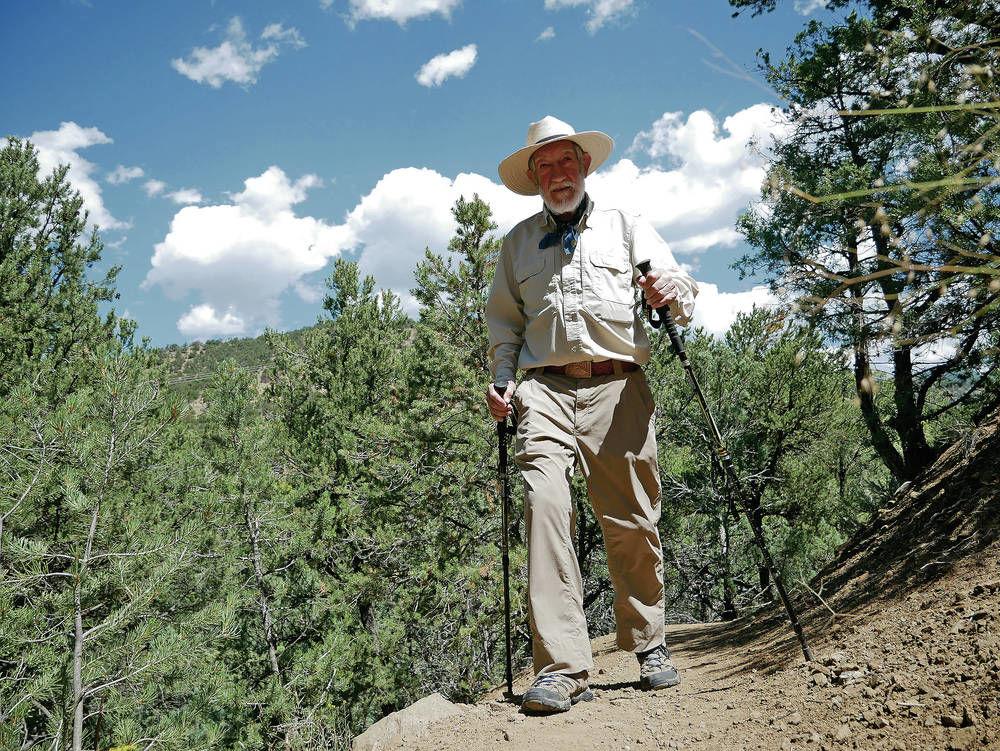 'Backpacker Bill' still hitting trail at 91