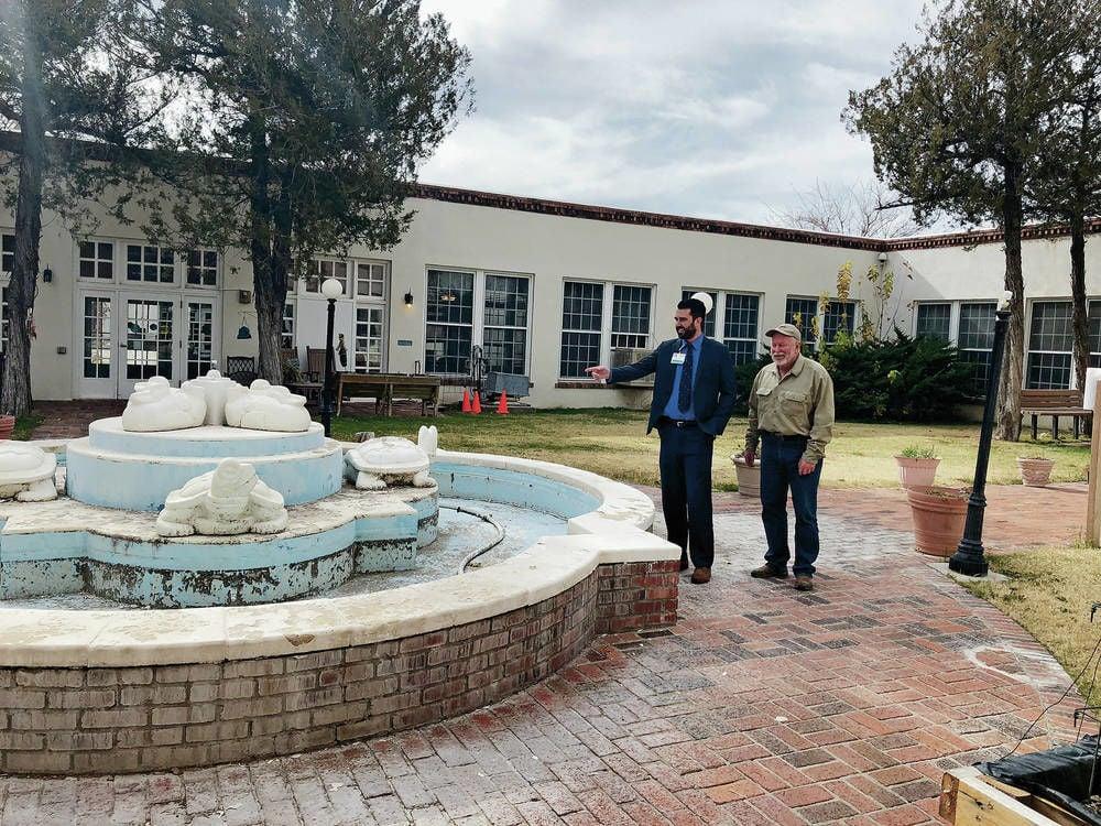 veterans fountain