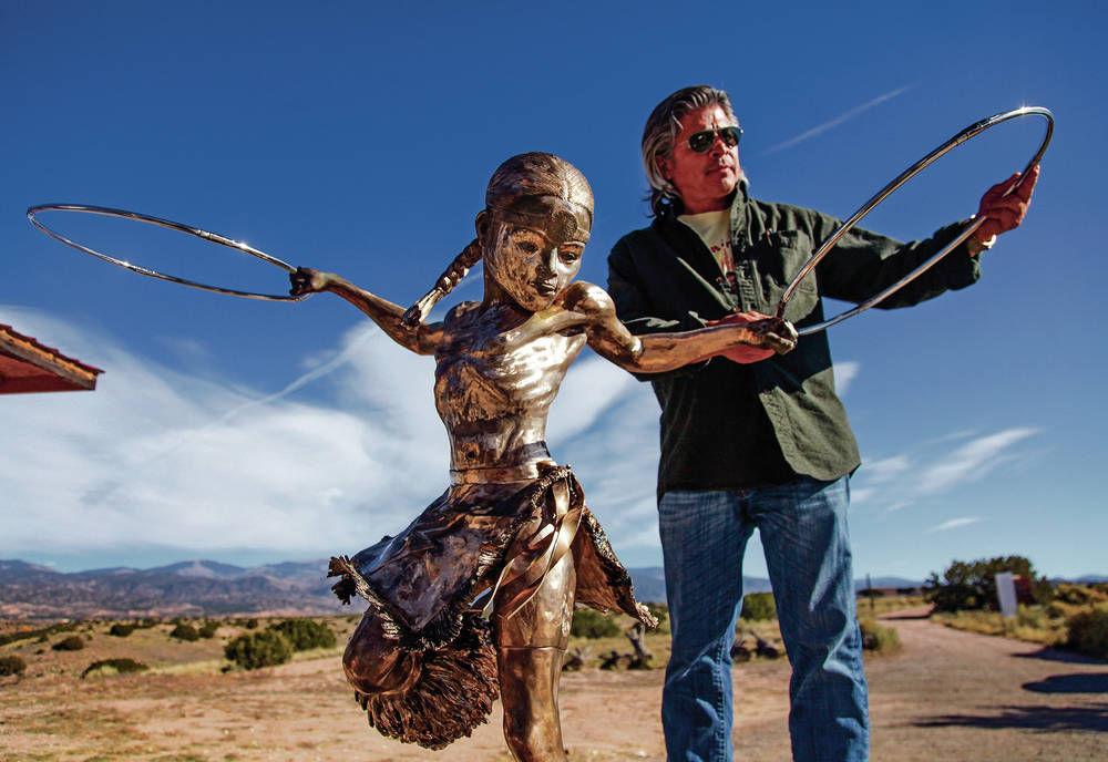 Former Pojoaque Pueblo governor celebrates the spirit of his late son in sculpture