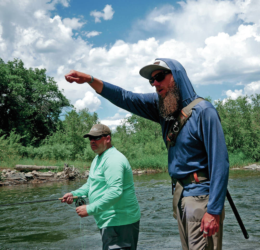Fly-fishing guide works to help fellow veterans with excursions to the Chama River