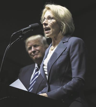 Betsy Devos Trumps Education Pick Plays >> Trump Education Pick Plays Hardball With Her Wealth News