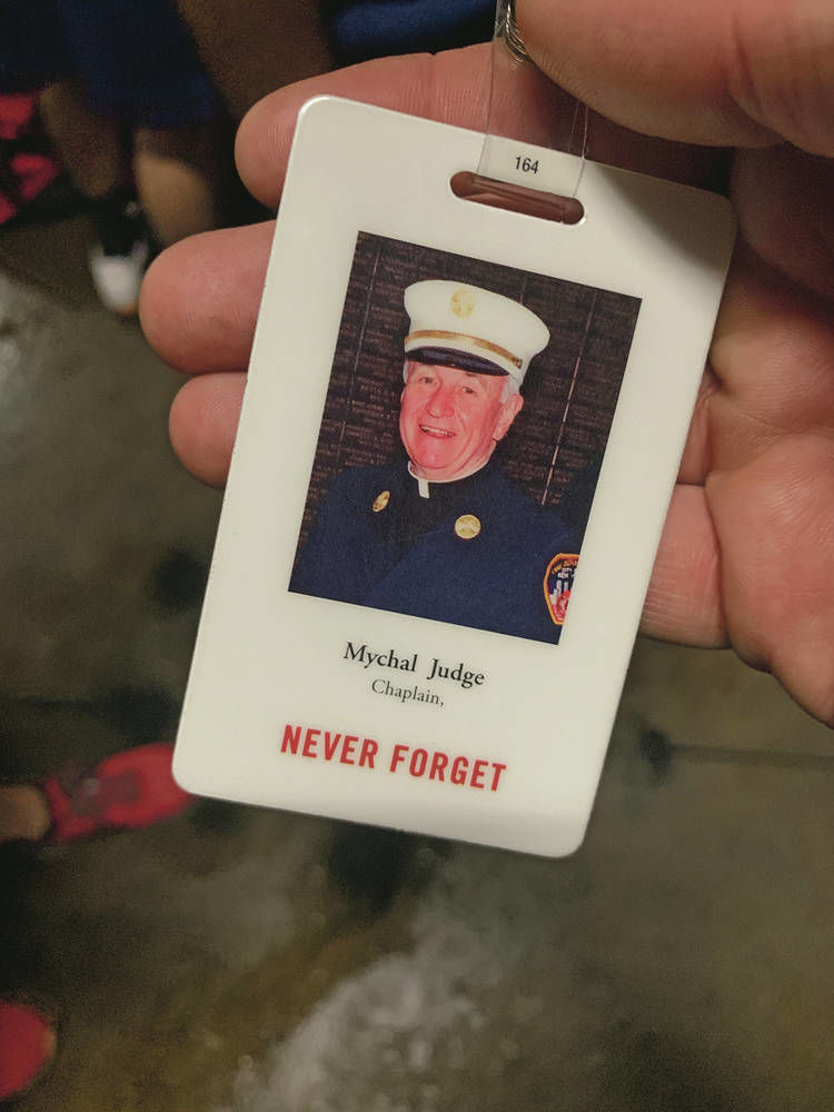 Santa Fe County firefighter honors 9/11 victim with similar name
