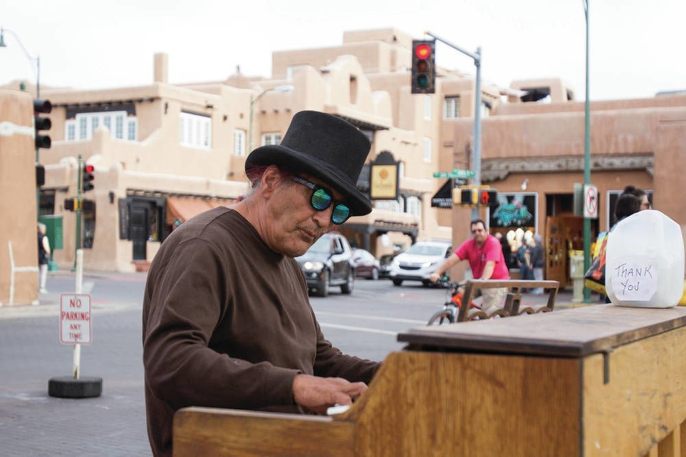 Police: Piano on Santa Fe Plaza OK, but locking it up overnight isn't