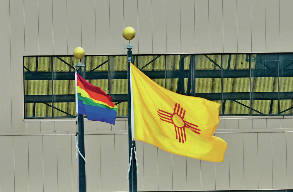 Los Alamos lab flying LGBTQ flag for first time
