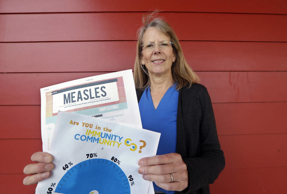 'Hippie' island off Seattle sees shift in low vaccine rate
