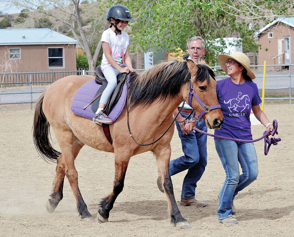 Therapeutic riding boosts people of all ages with disabilities