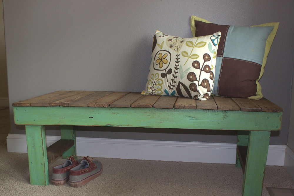 Discarded Wooden Pallets Are DIY Gold For Furniture And More