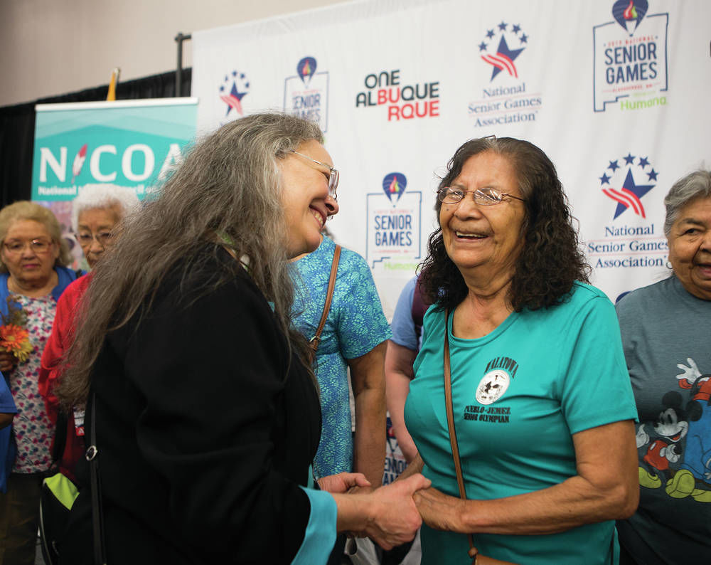 Senior Games in Albuquerque honors Native athletes