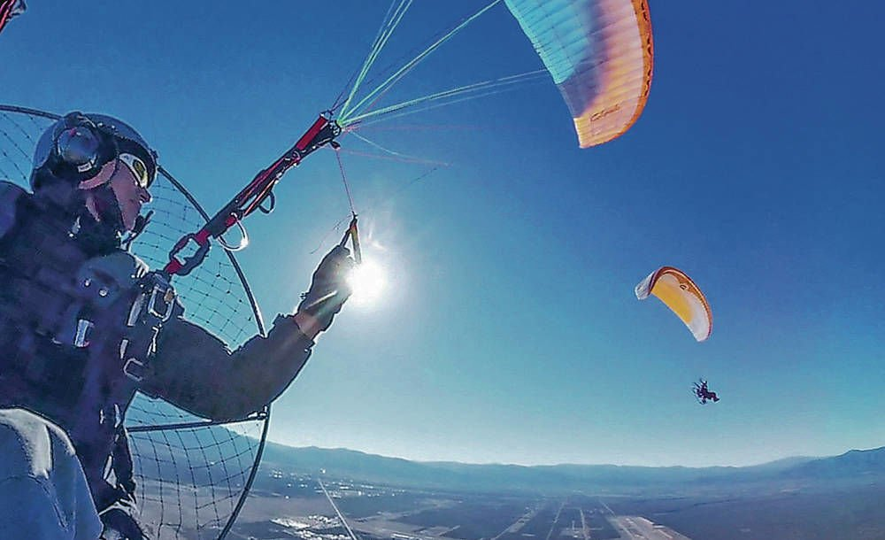 Paragliding with a purpose: Group filming entire Rio Grande