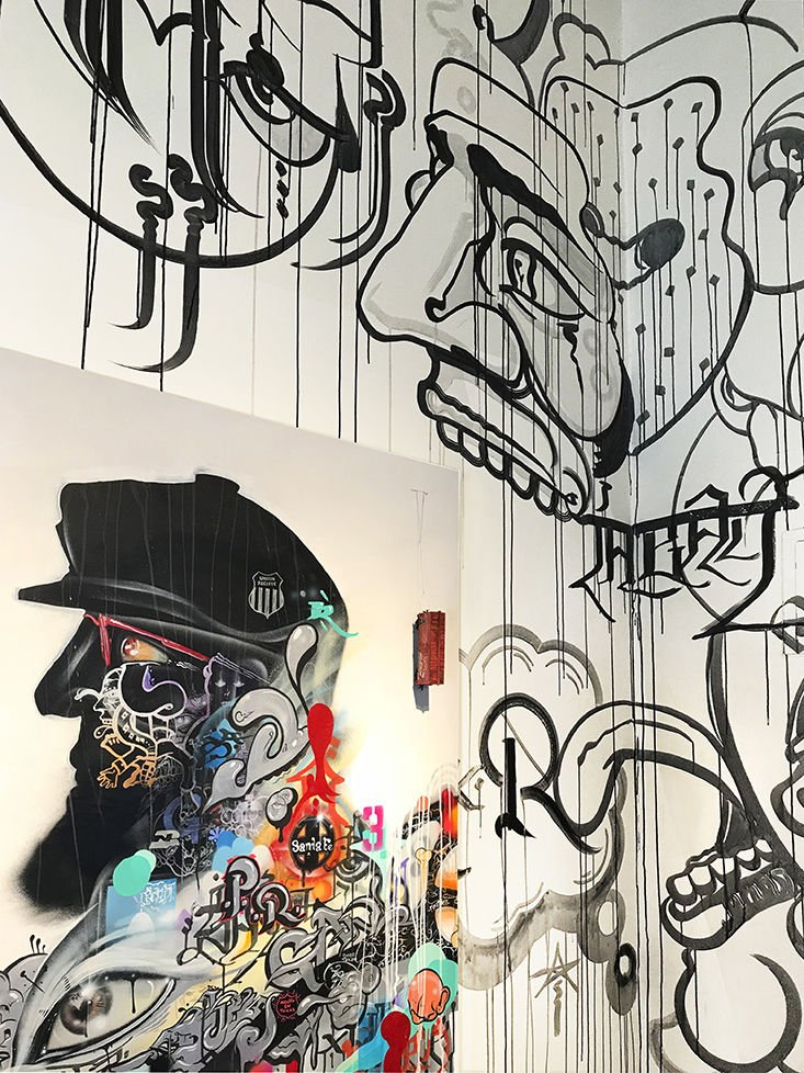 Beyond the wall: Street art comes inside | Art | santafenewmexican.com