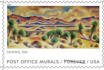 Deming Post Office mural gets its own stamp