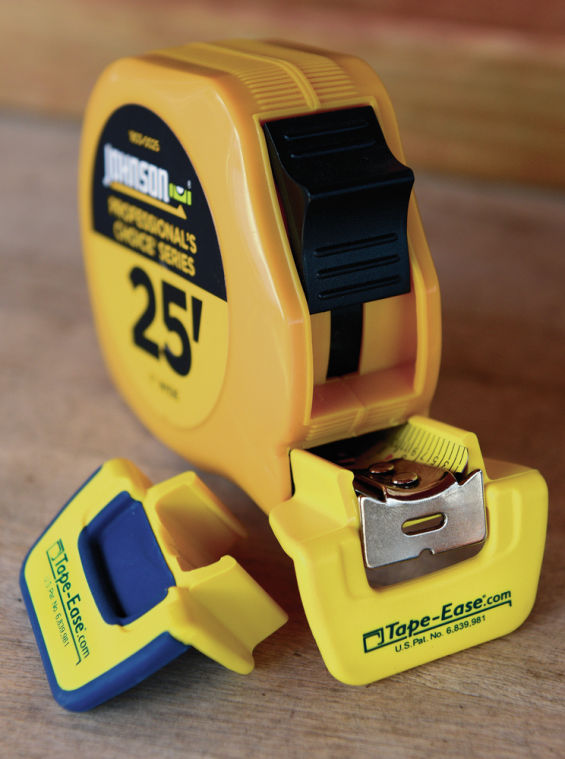 Sisters Produce A Fix For The Slipping Tape Measure Business